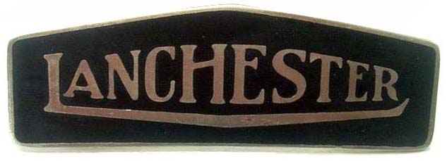 1927. Lanchester Motor Company (grill badge)