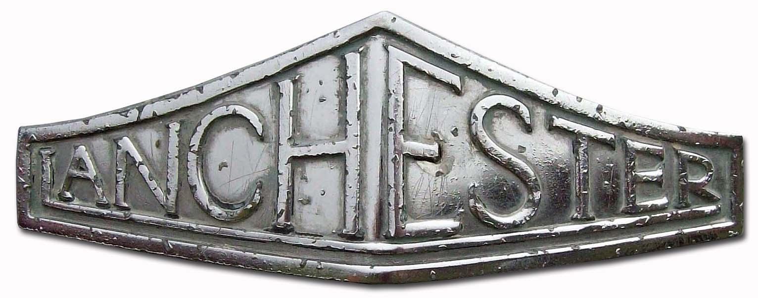 1948. Lanchester Ten LD10 (grill emblem)