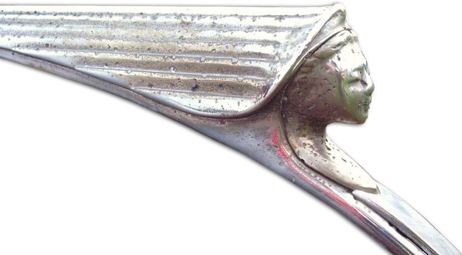 1951-1954. Lanchester Fourteen(Leda) (hood ornament)