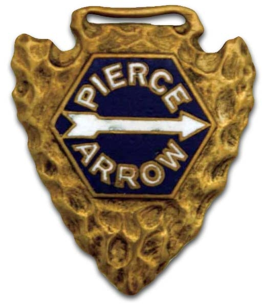 1918. Pierce-Arrow Motor Car Company (whach fob)