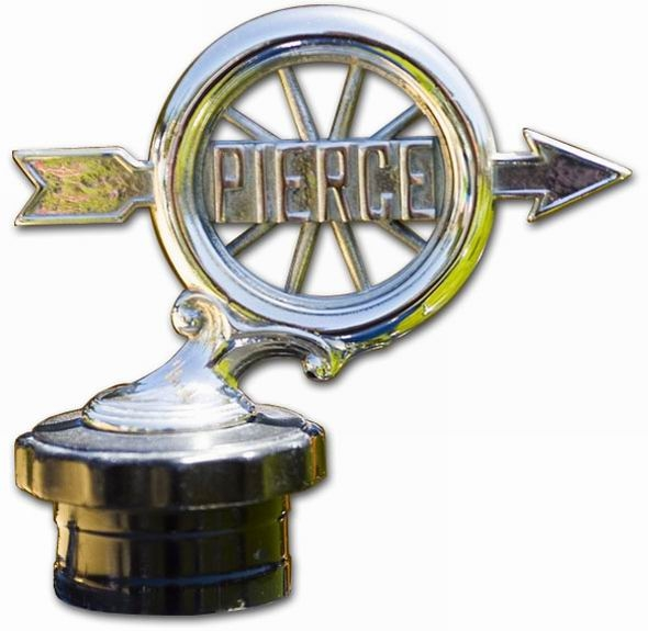 1925. Pierce-Arrow (hood ornament)