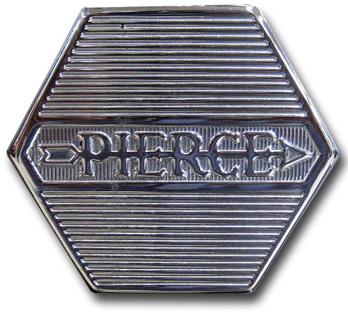 1930. Pierce-Arrow (wheel cover emblem)