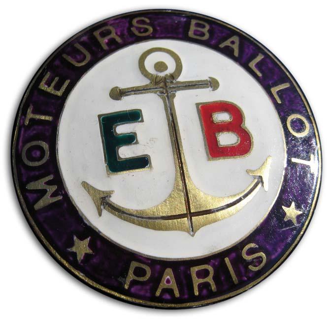 1919. Ballot (1919 hood emblem)