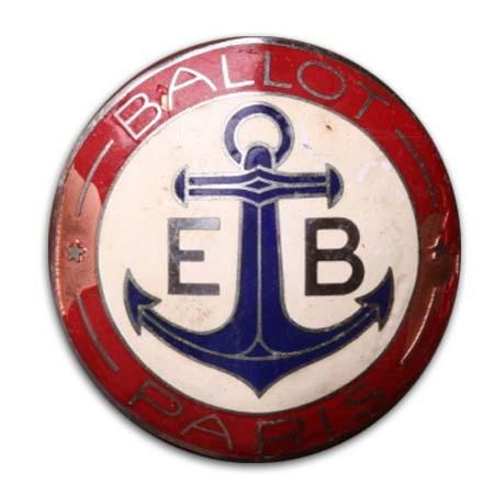 1921. Ballot 2LS (1921 grill emblem)