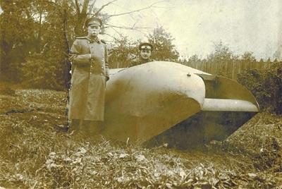 1915. Вездеход Пороховщикова