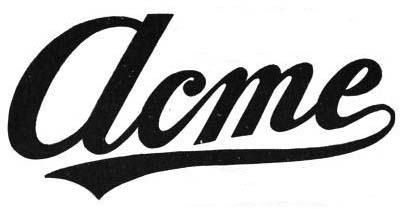 1906. Acme Motor Car Company (Reading, Passadena)
