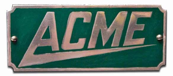 1909. Acme Motor Car Co.
