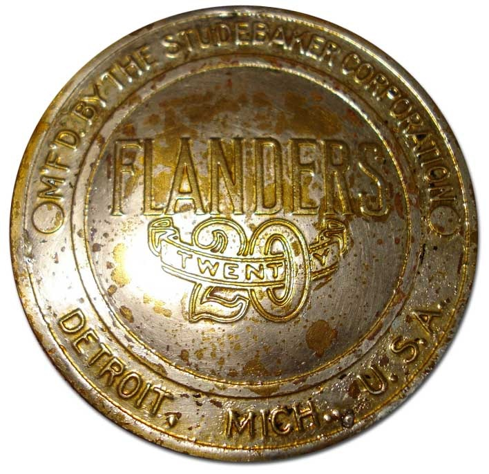 1910. Flanders Twenty, Manufactured by Studebaker Corporation (grill emblem)
