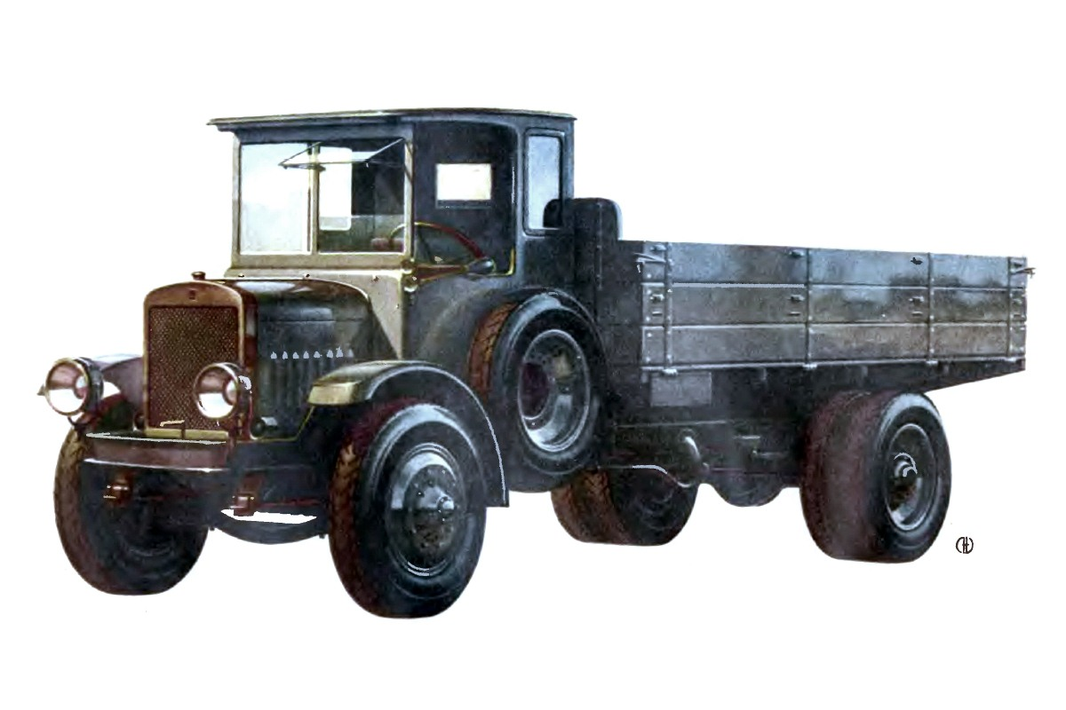 1925-1928. YA-3