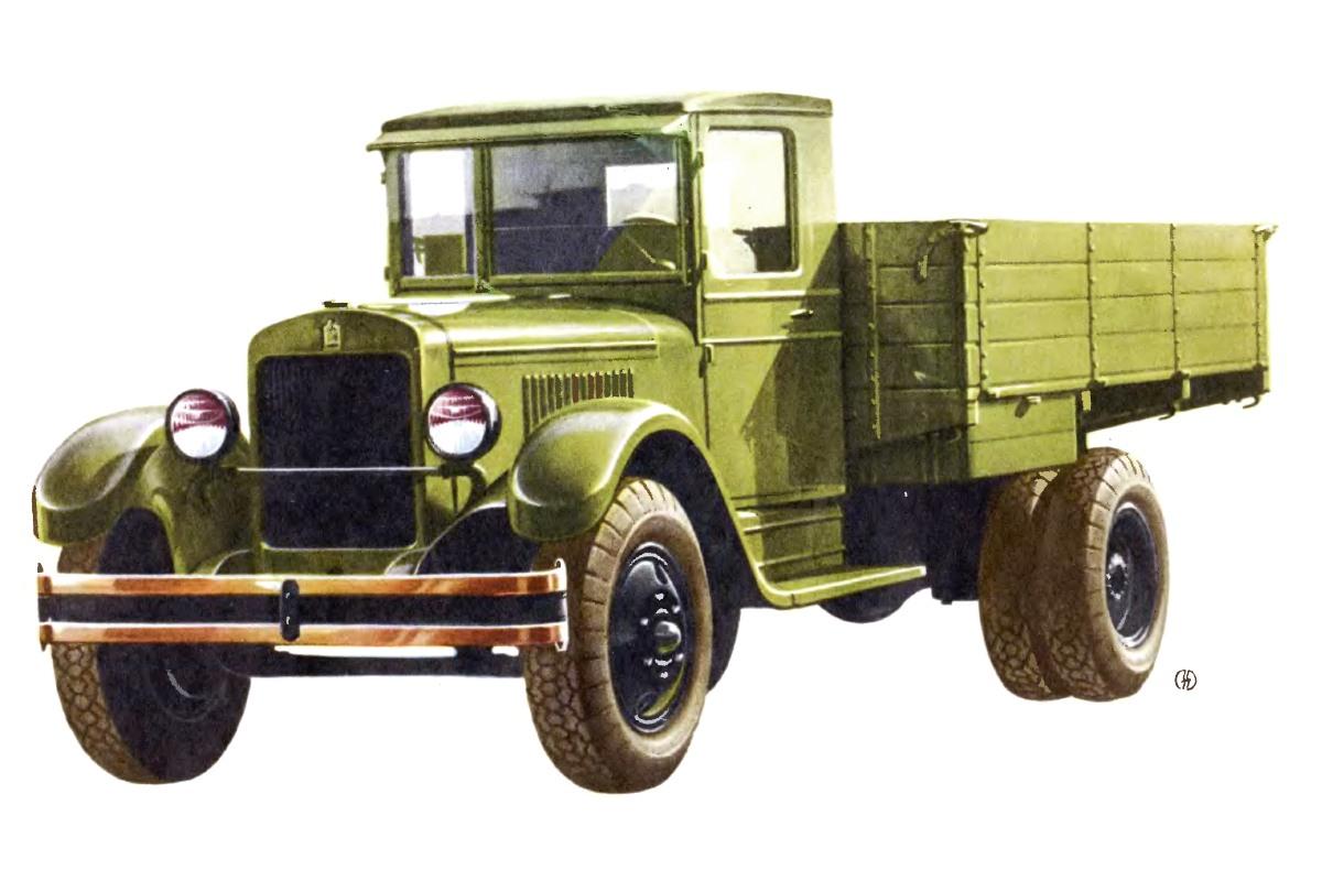 1933-1958. ZIS-5