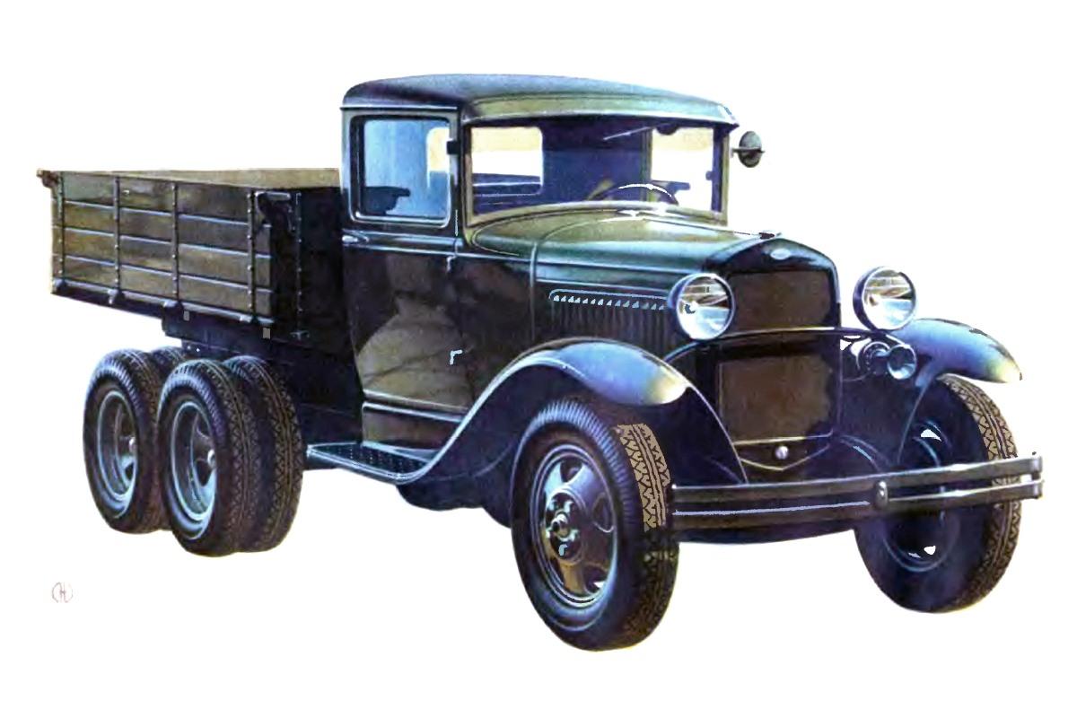 1934-1943. GAZ-AAA