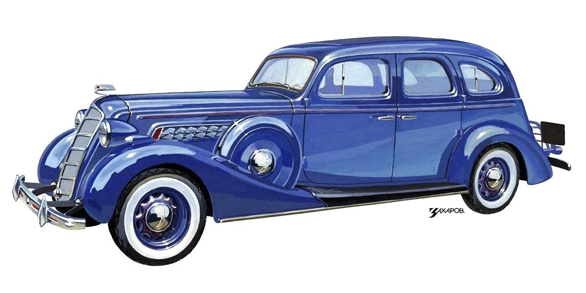 1937-1939. ZIS-101