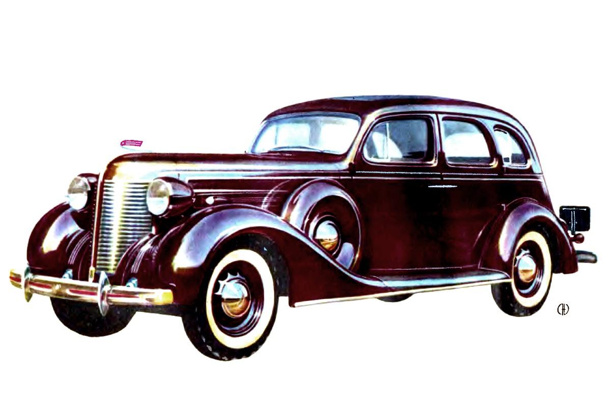 1939-1941. ZIS-101A