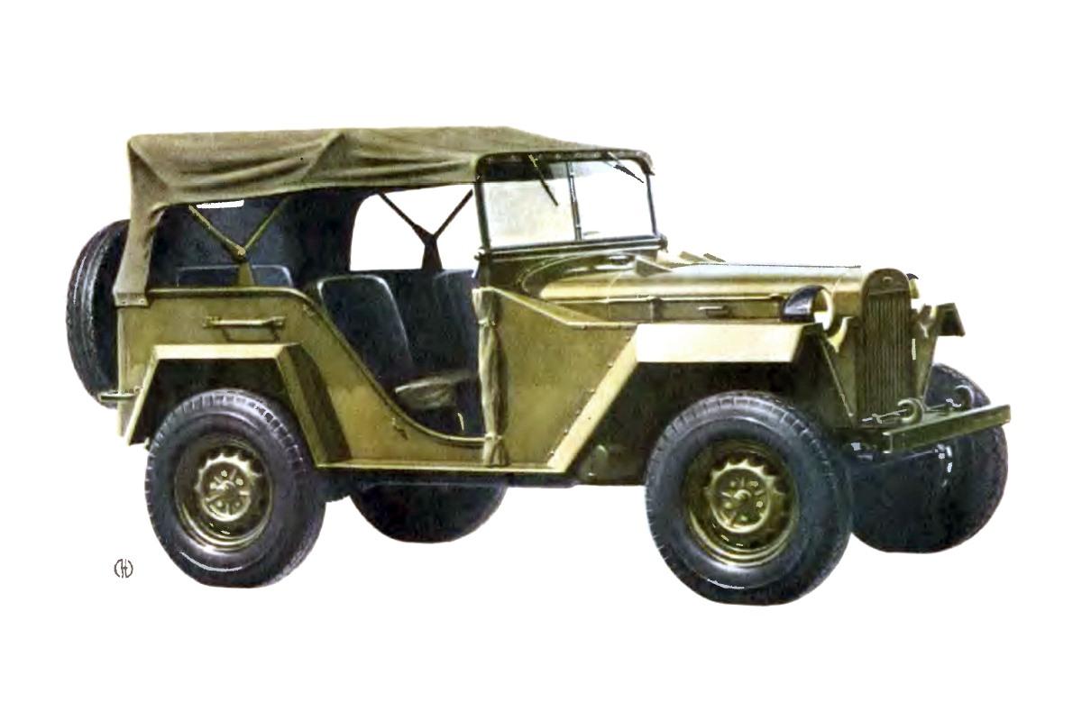 1944-1953. GAZ-67B