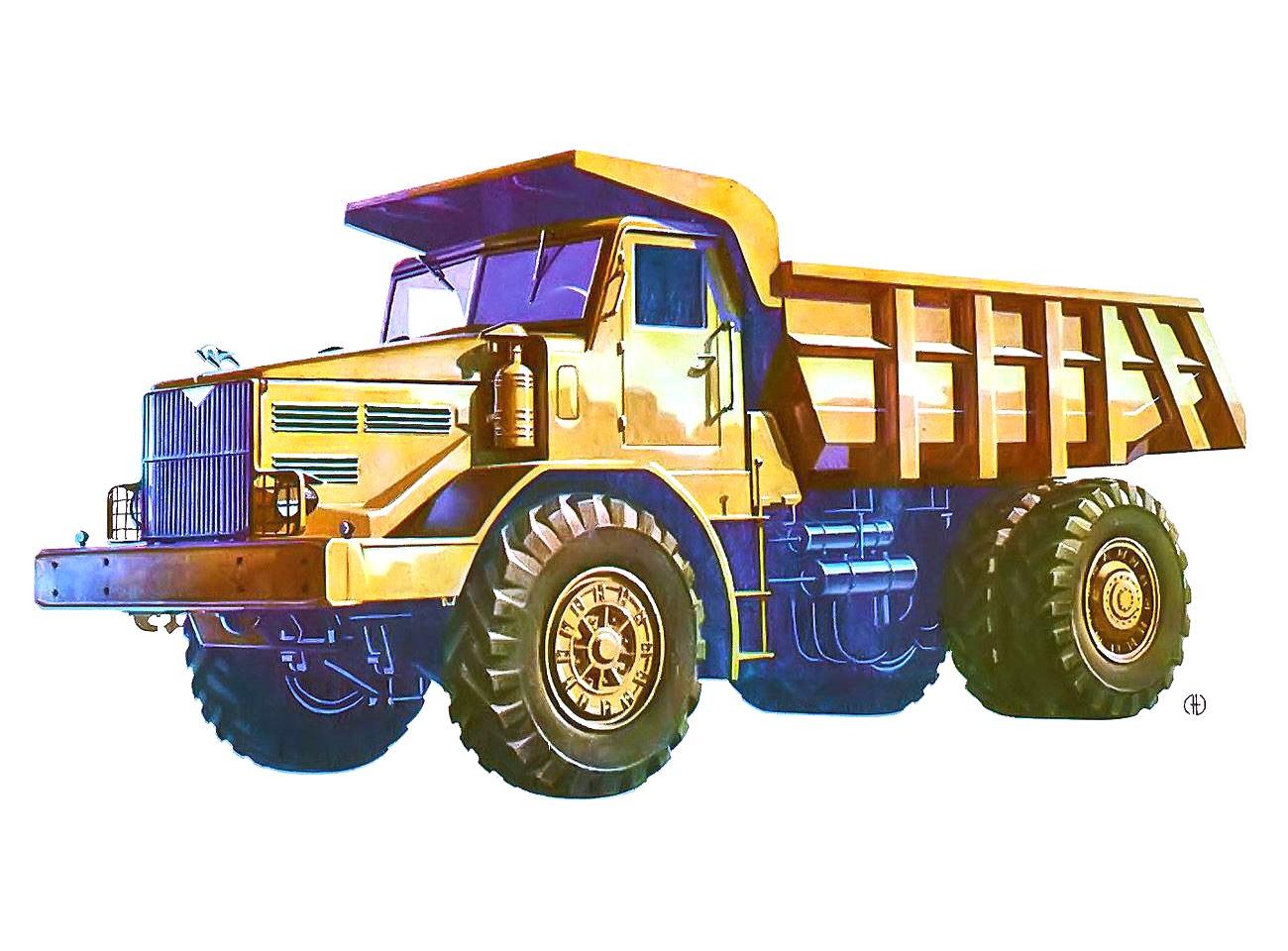 1950-1959. MAZ-525