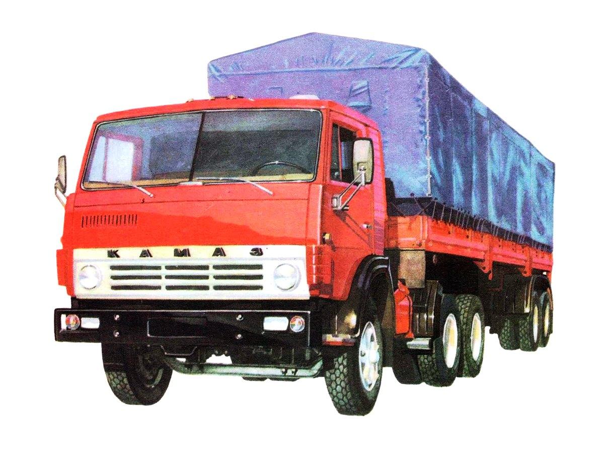 1976-2006. KAMAZ-5410