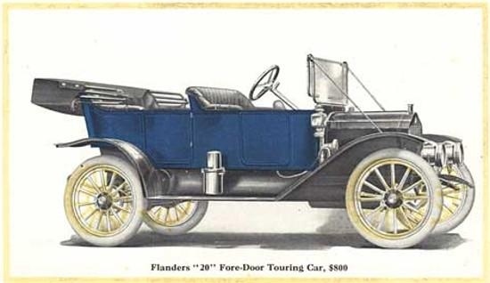 1912. Flanders Touring Car