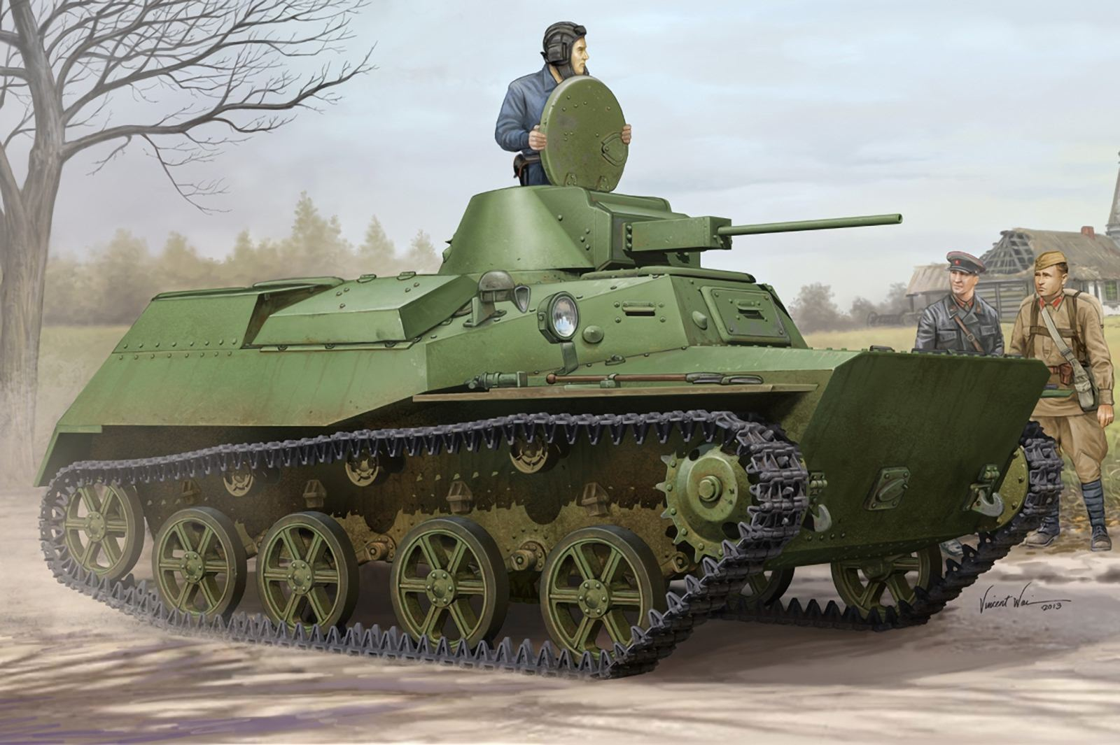 1929. Т-30 - тяжелый танк прорыва (проект)