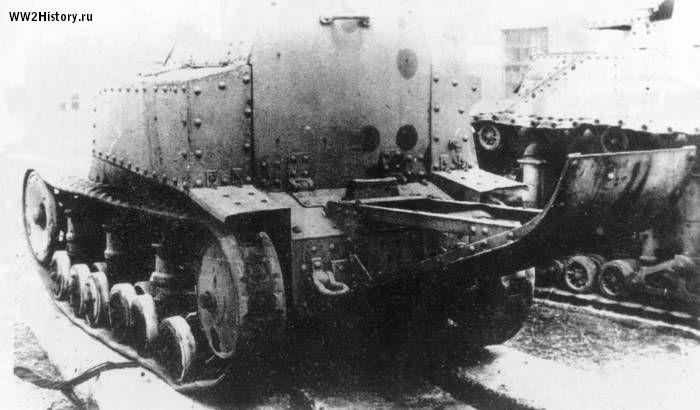 1929. Т-21 - легкая танкетка