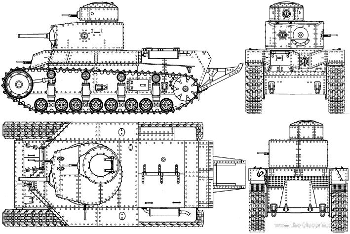 1930. Т-24 - средний двухбашенный танк