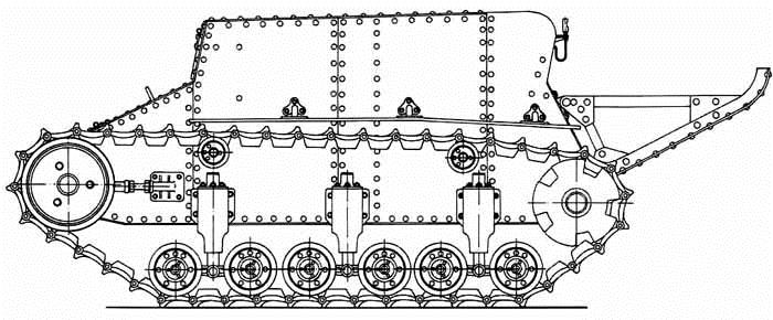 1930. T-23 - разведывательная танкетка (прототип)
