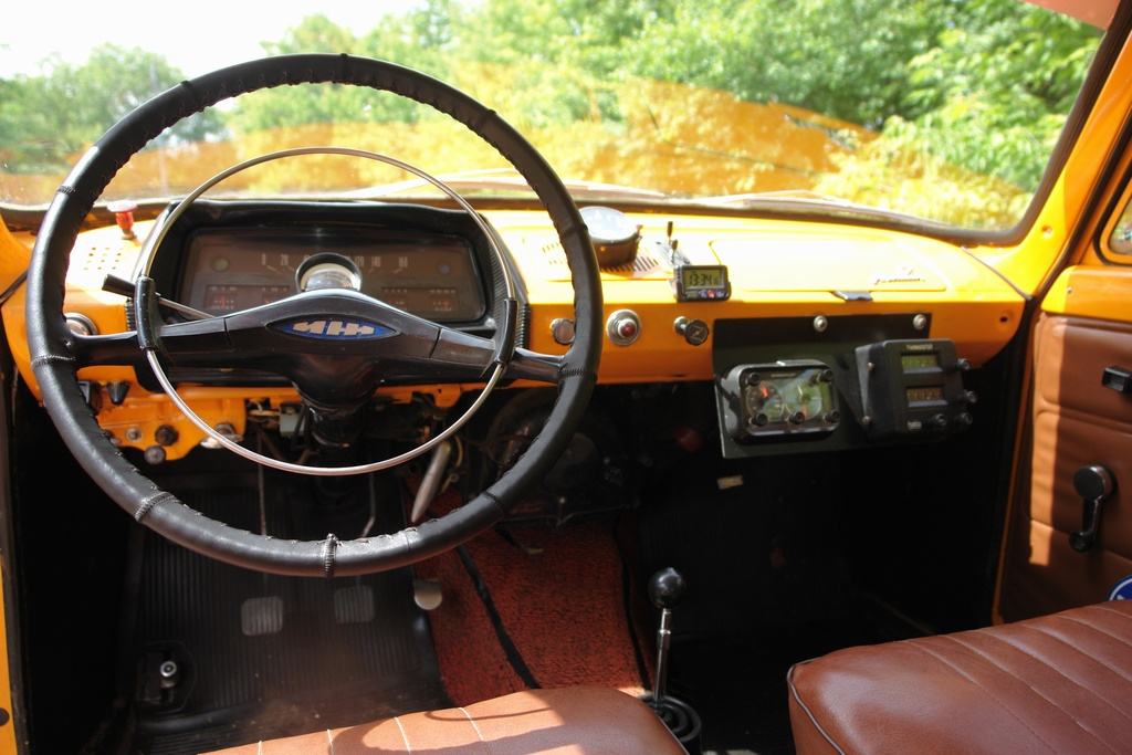 1971. Москвич-412 в ралли Тур Европы