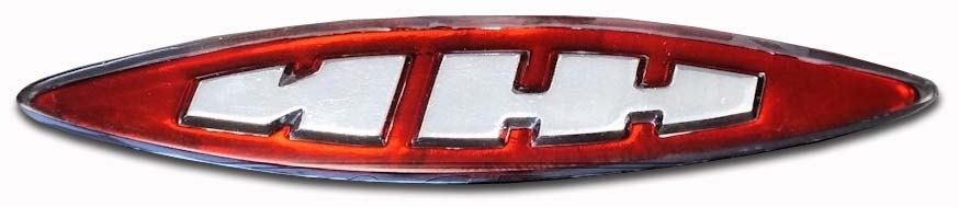 1967-1978. Izh Moskvich-408, Izh Moskvich-412 (steering wheel emblem)