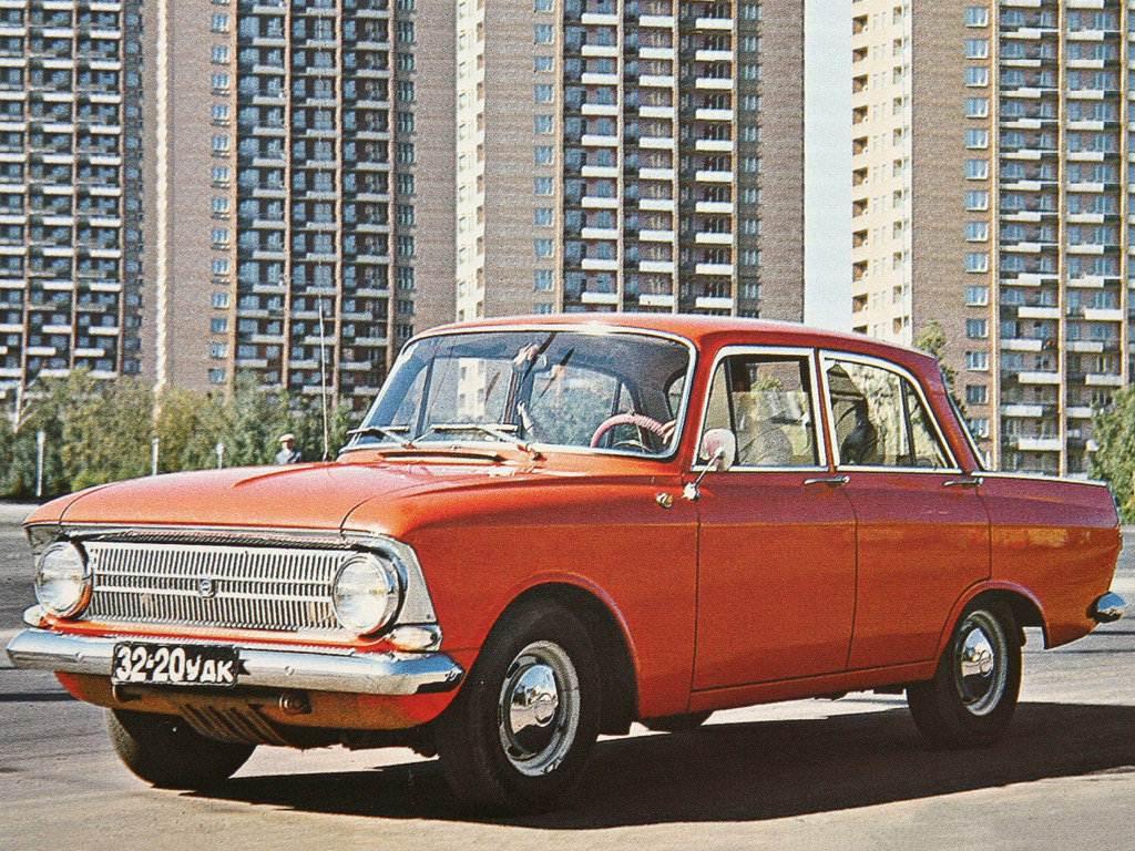 1969-1982. Izh-412 Moskvich (Москвич-412)