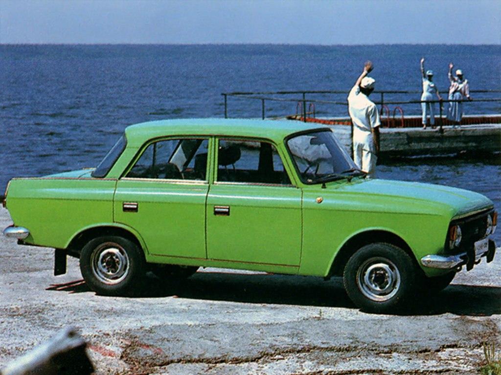 1982-1997. Izh-412IE-028 Moskvich