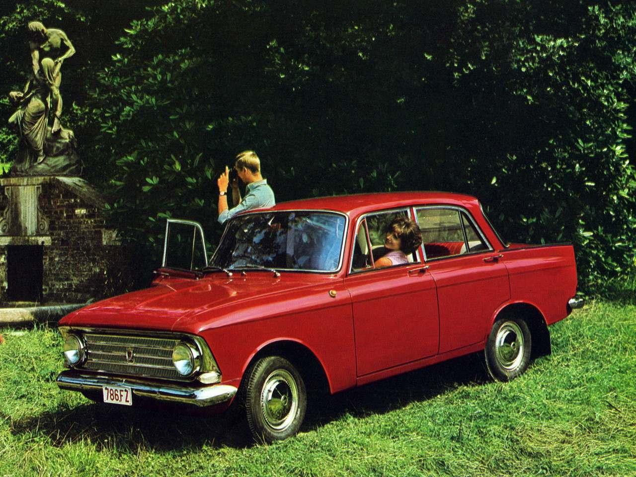 1966-1968. Izh-408 Moskvich (Москвич-408)