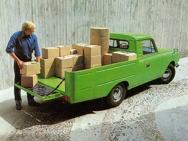 1982-1994. Izh-27151-01-013 Elite Pickup