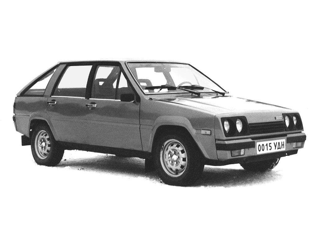 1979. Izh-2126 Series 0 (Concept)