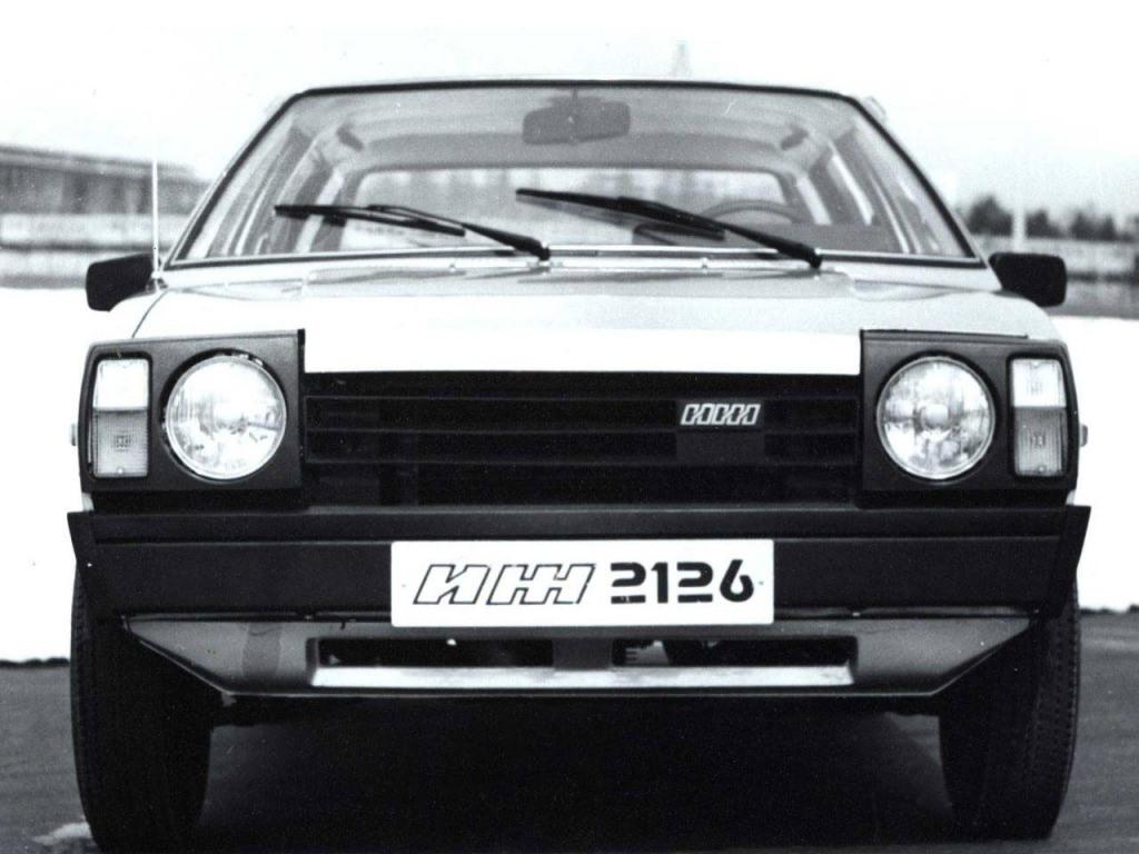 1977. Izh-2126 Series T (Concept)