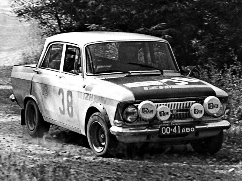 1975. Москвич-412 Rajd Polski