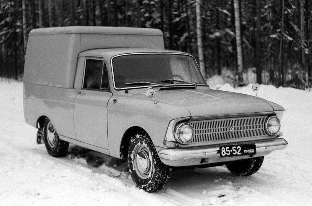 1971-1972. Izh-2715 Concept (Иж-2715 Опытный)
