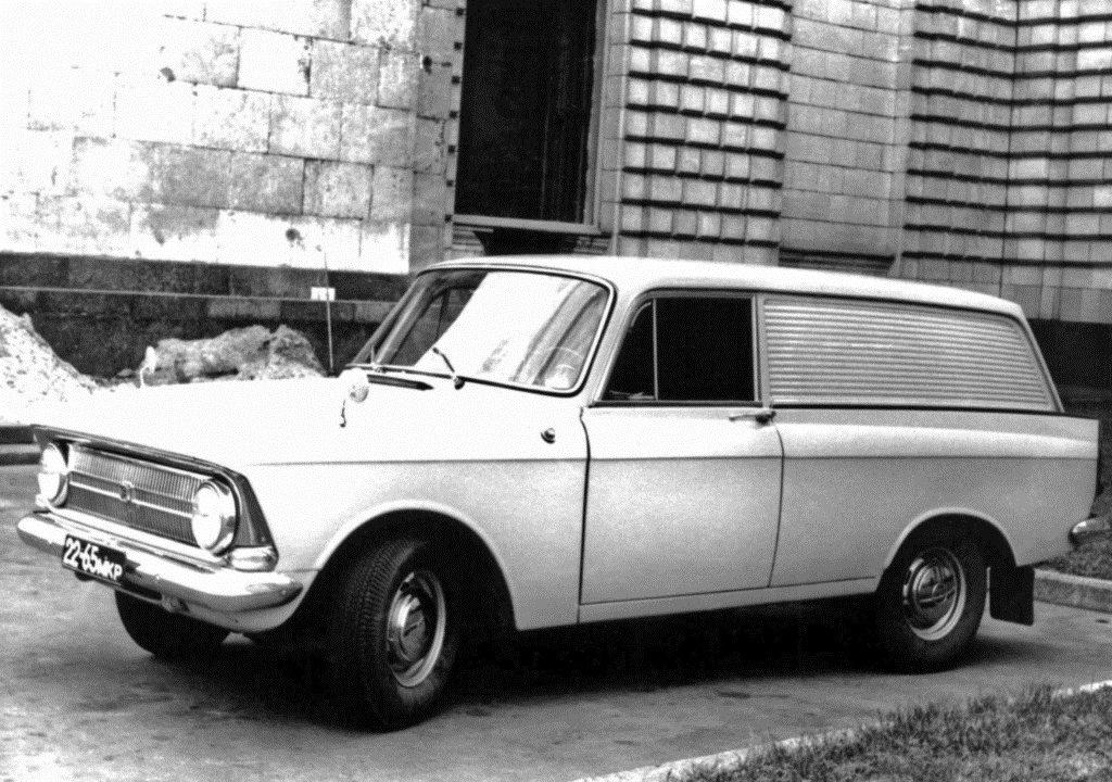 1968-1973. Izh-434 Moskvich (Москвич-434)