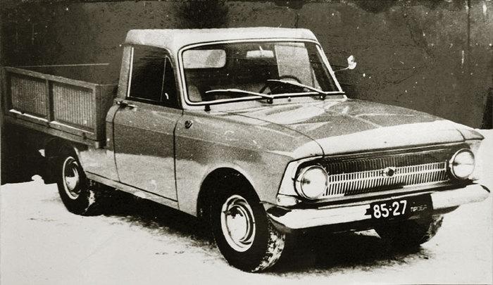 1970. Izh-6G Concept (Иж-6Г Опытный)