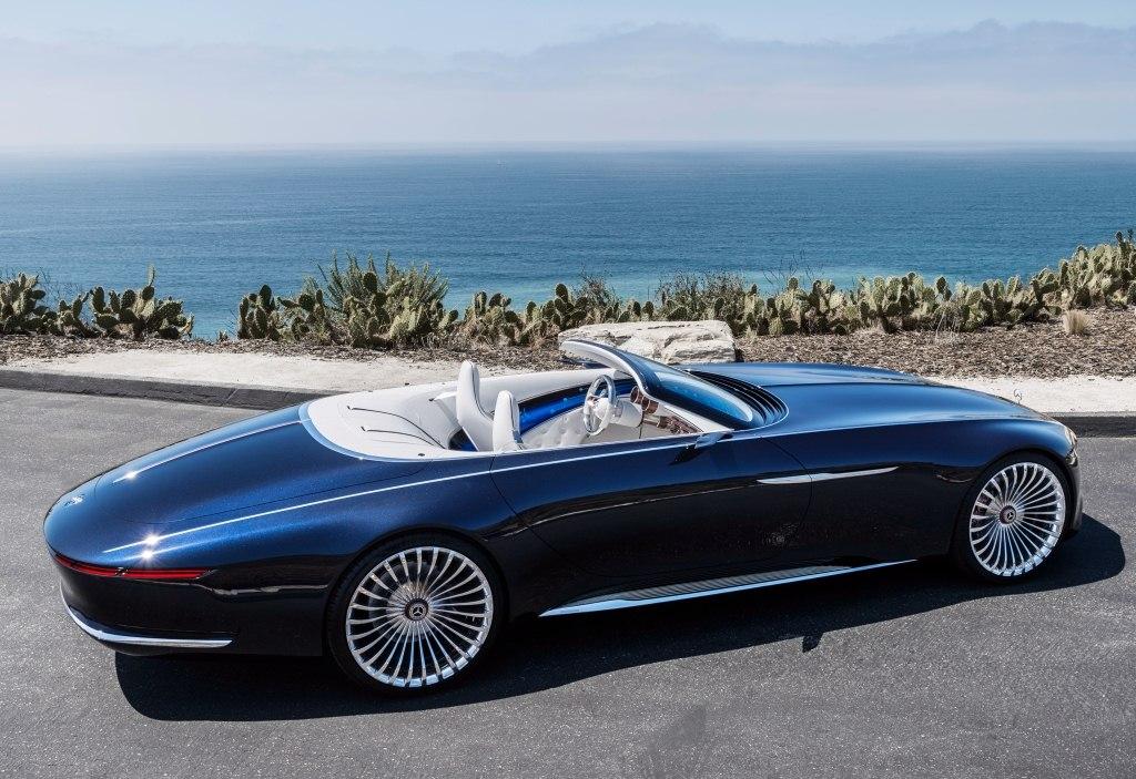 2017. Vision Mercedes-Maybach 6 Cabriolet (Concept)