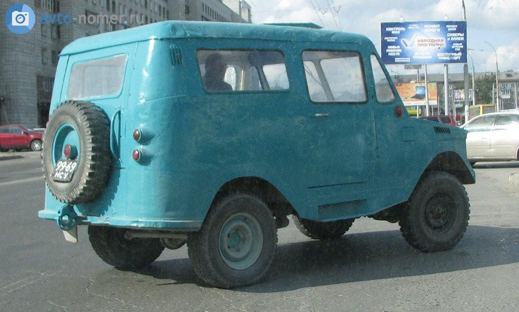 1960(?). САМАВТО. Россия (СССР). Новосибирск. Агрегатная база ГАЗ-69