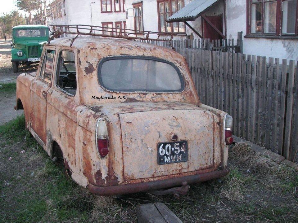1960 (?). НИВА. Россия (СССР). Мурманск