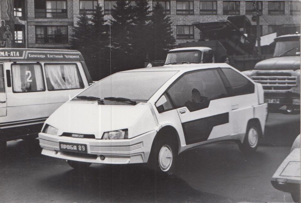 1990 (не точно). САМАВТО. Армения. Автор неизвестен