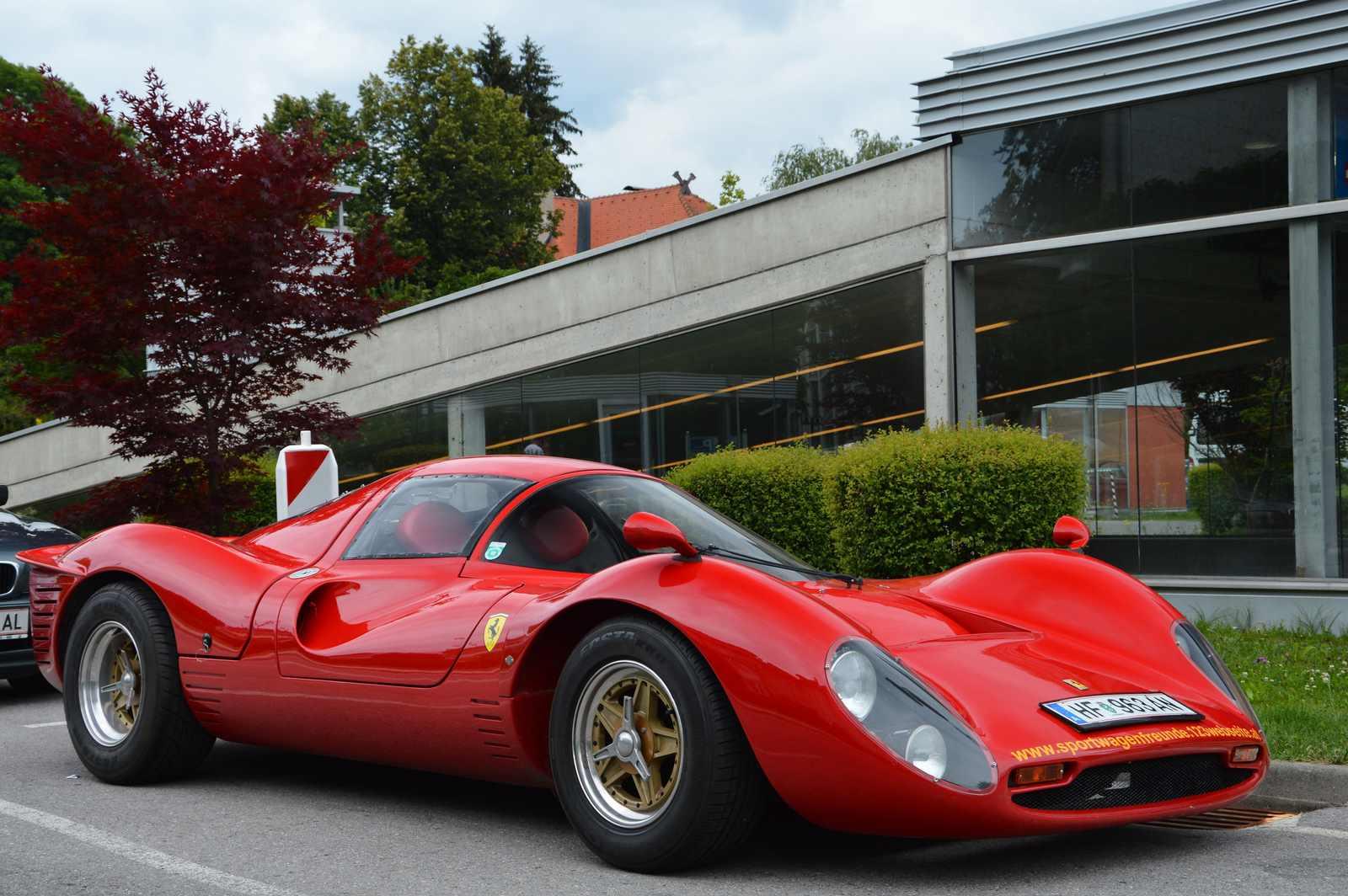2010 (не точно). РЕПЛИКАР Ferrari P330. Австрия. Штирия, округ Хартберг-Фюрстенфельд