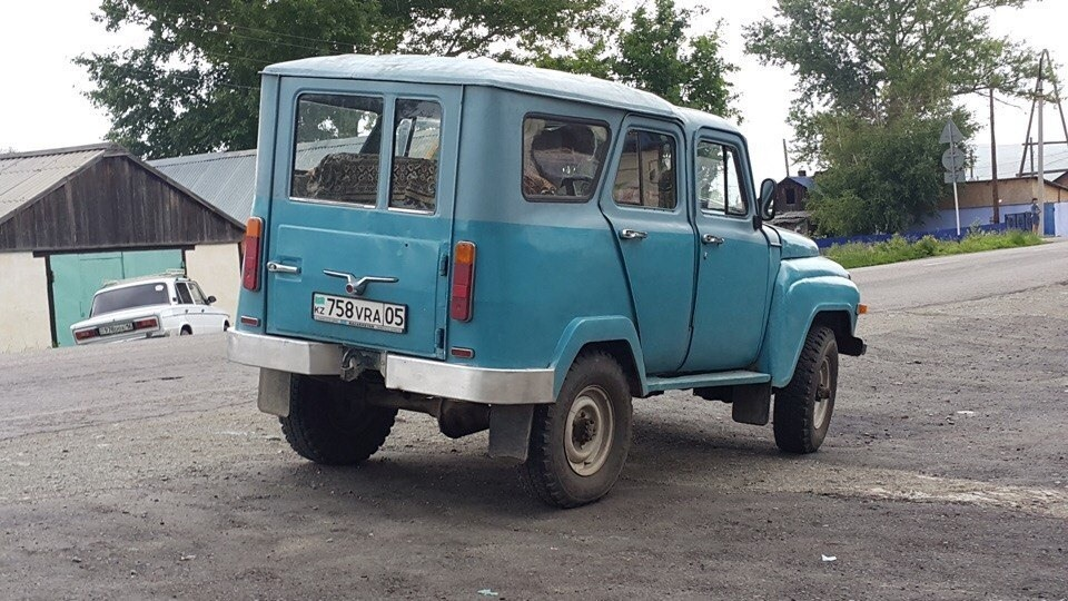 1990 (?). САМАВТО. Казахстан. Автор неизвестен. Агрегатная база УАЗ-469Б