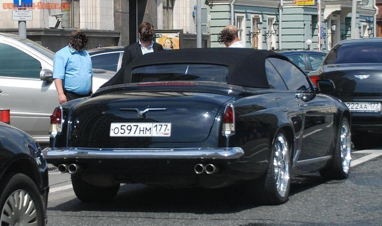 2010. Pemespiba Volga Roadster. Россия