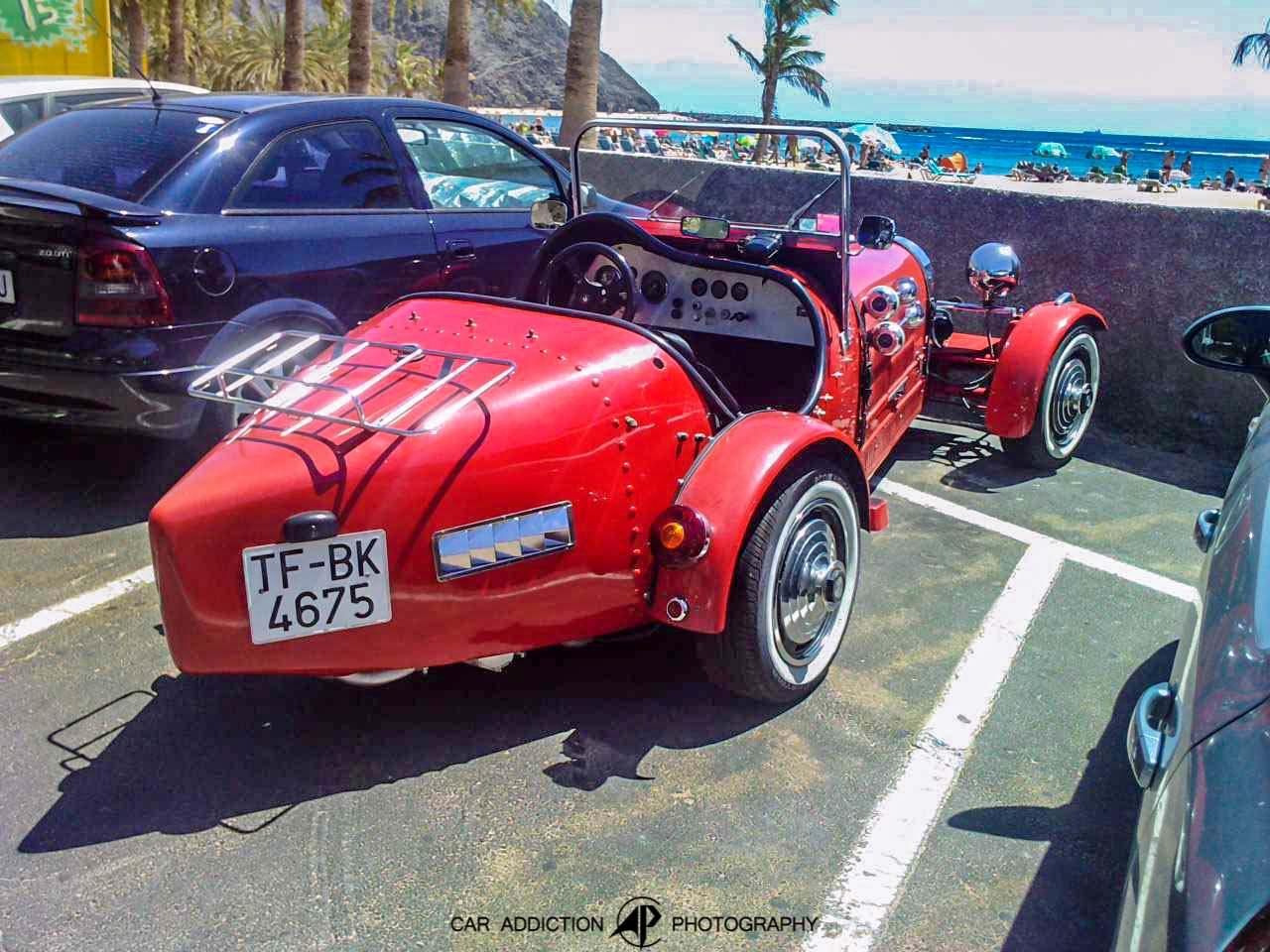 2000 (?). РЕПЛИКАР Bugatti Type 35B. Испания. Санта-Круз-де-Тенефире. Автор неизвестен
