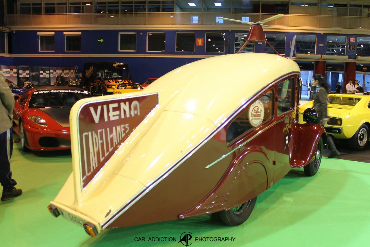 1935. Autogiro Viena Capellanes. Испания. Мадрид. Автор неизвестен