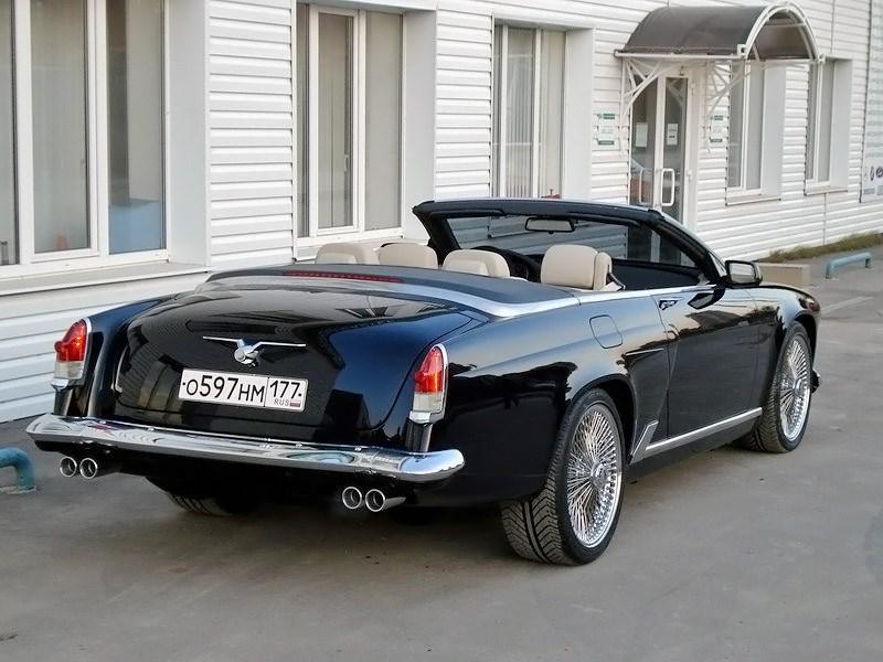 2006. ALevel Volga V8 Convertible (Concept). Россия. Москва