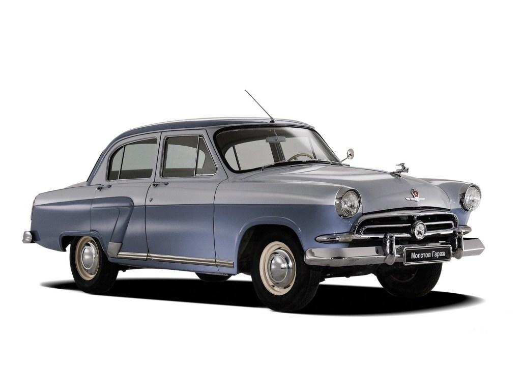 1956-1958. ГАЗ-21Г Волга