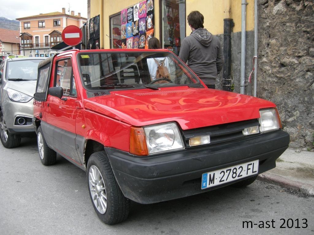 1990 (?). САМАВТО. Испания. Мадрид. Автор неизвестен. Агрегатная база SEAT Panda Terra