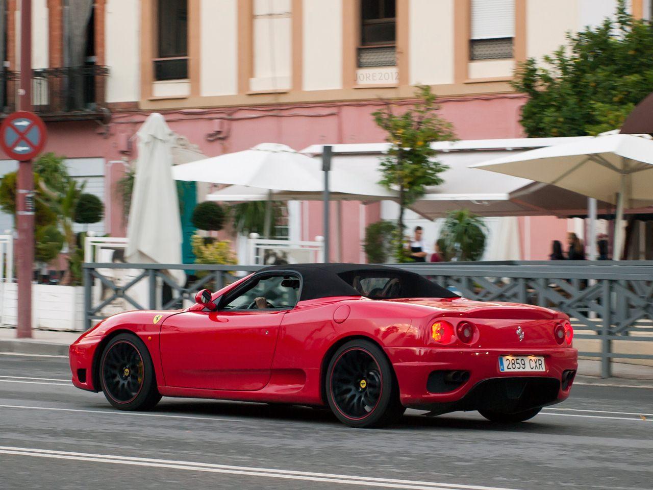 2000 (?). РЕПЛИКАР Ferrari 360. Испания. Севилья. Автор неизвестен